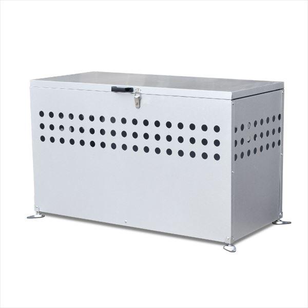 【 納期約1ヶ月かかります 】 メタルテック ガルバ鋼板製 ふた付 ダストボックス DST-1100 300L 『ゴミ袋(45L)集積目安 6袋、世帯数目安 3世帯』 『ダストボックス ゴミステーション 屋外』