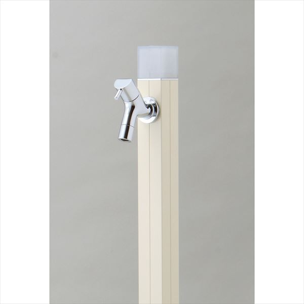 オンリーワン 不凍水栓柱 アイスルージュ 1.0m TK3-DKV 『水栓柱・立水栓セット(蛇口付き)』 バニラ