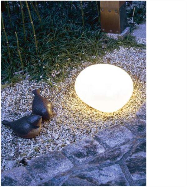 タカショー 然 ストーンライト ローボルト HGB-D09T *LED交換不可 #71613500 『ローボルトライト』 『エクステリア照明 ライト』