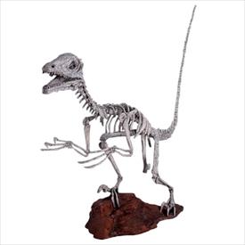 FRP ディノニクス・スケルトン / Deinonichus Skeleton 『恐竜オブジェ 博物館オブジェ 店舗・イベント向け』