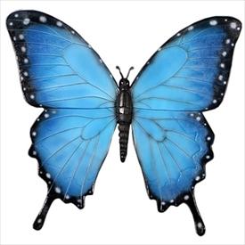FRP 壁掛け蝶々・50cm / Butterfly Wall Decor 50cm 『植物オブジェ ベンチ 店舗・ホテル向け』