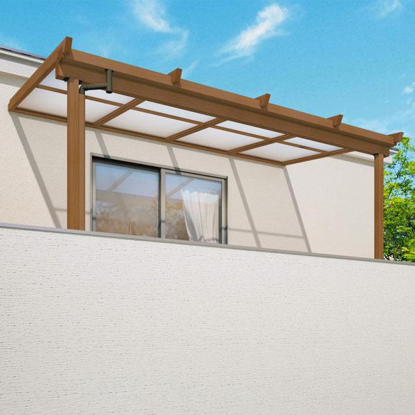 三協アルミ 2階設置型テラス ナチュレNU型 2.0間×3尺 壁付け納まり 600タイプ 関東間 単体 TPUA-1230S ポリカーボネート ポリカーボネート