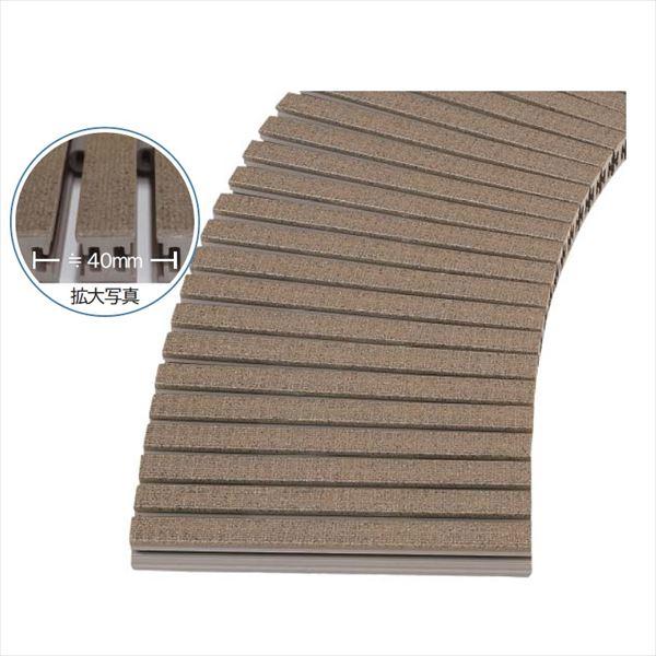 ミヅシマ工業 樹脂製グレーチング フリーハードルGS ♯201~250  201~250mm×1m×26mm 435-0040 *受け枠別途 石目調