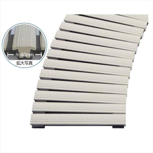 ミヅシマ工業 樹脂製グレーチング フリーハードルMG ♯251~300  251~300mm×2m×25mm 433-0040 *受け枠別途 オフホワイト