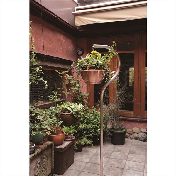 愛紳照明 San Francisco Flower 本体 #SO-60 ステンレス(SUS304)製 『銅製鉢植 DW380 ×1個 、吊り下げ金具 C380 ×1個 セット』 *植木は含まれません