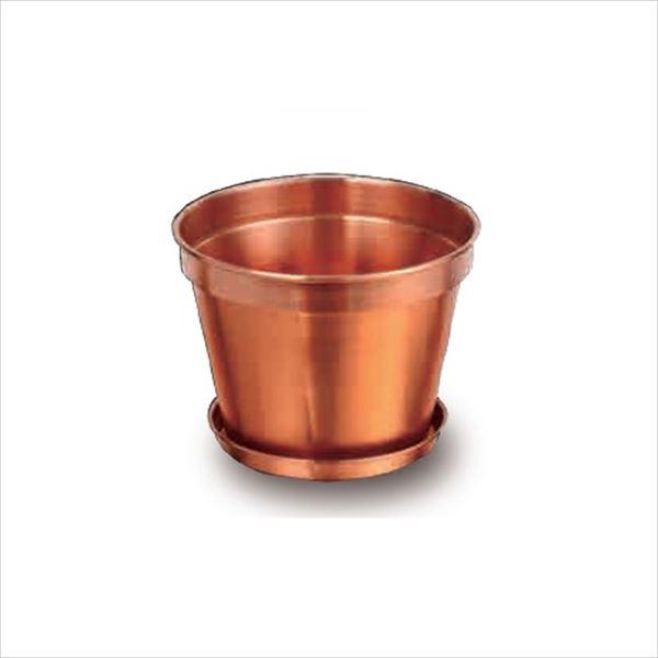 愛紳照明 粋勢-Ikiiki- 銅製鉢植 #DH-234 銅(C1100)製 *受け皿付