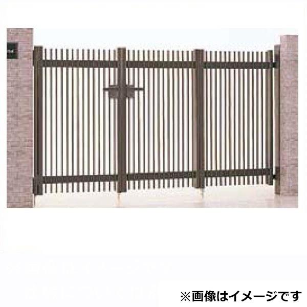 リクシル TOEX ハイ千峰(せんぽう) 3枚折戸(キャスターなし) 10-12 『アルミ門扉』