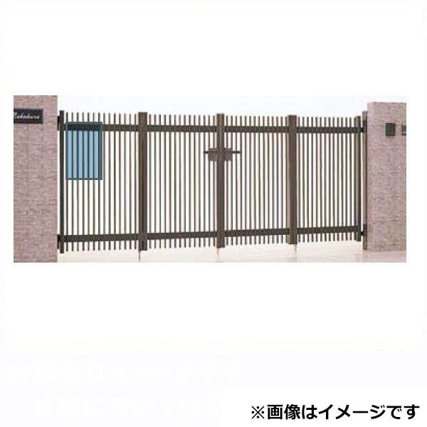 リクシル TOEX ハイ千峰(せんぽう) 4枚折戸(キャスターなし) 06-10 『アルミ門扉』