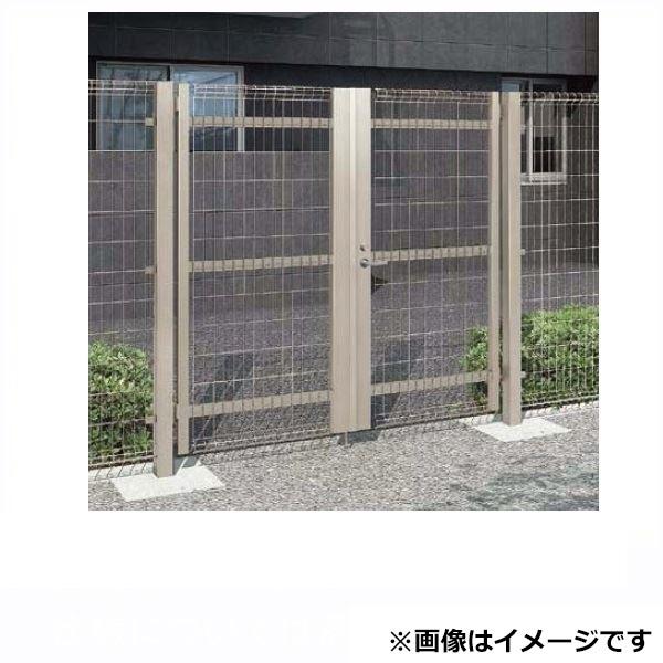 好きに リクシル TOEX ハイグリッド門扉NF8型 柱使用 09-18 両開き シリンダー錠使用(ノブ式内蔵錠), 輸入家具雑貨といえば、鈴木家具 f080e3ff