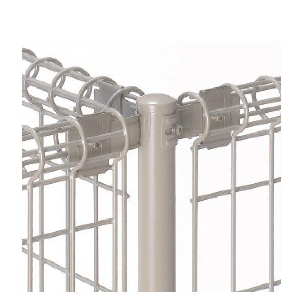 三協アルミ ユメッシュR型 間仕切り支柱タイプ 支柱 基本タイプ T字用 2020 『スチールフェンス 柵』