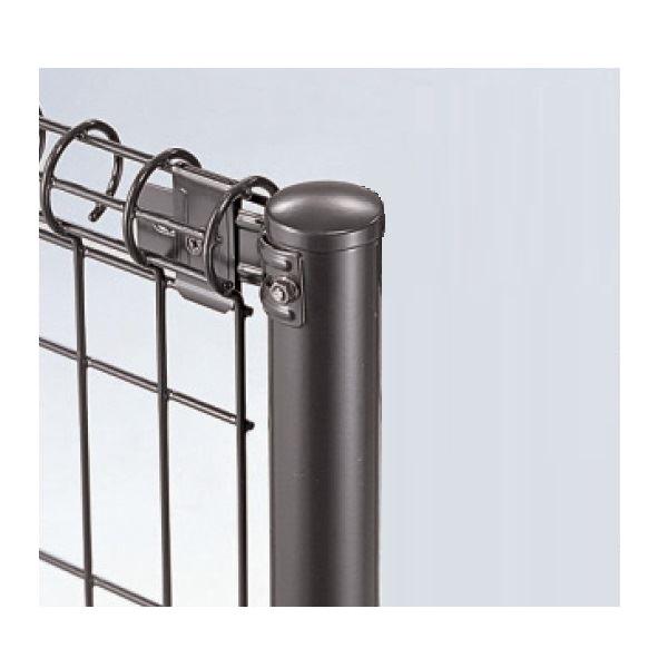 三協アルミ ユメッシュR型 間仕切り支柱タイプ 支柱 508タイプ 端部用 2018 『スチールフェンス 柵』