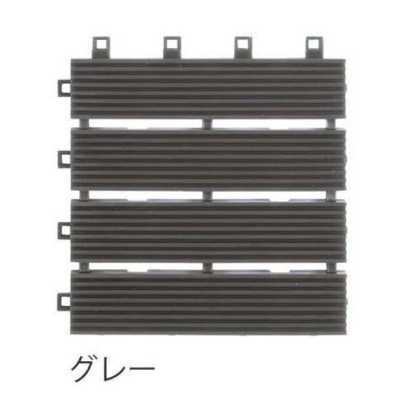 ミヅシマ工業 ニューラインマット 本体 150×150×12mm 1ケース(80ピース入) グレー #402-0800 グレー