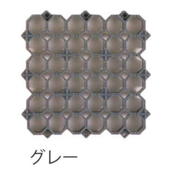 ミヅシマ工業 エイトチェッカーDX 本体 150×150×13mm 1ケース(200ピース入) グレー #420-0040 グレー