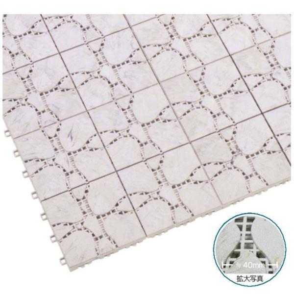 ミヅシマ工業 ファインフロアー 本体 300 × 300 × 13mm 1ケース(40ピース入)