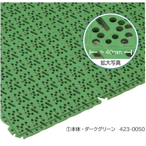 ミヅシマ工業 スーパーチェッカー 本体 300 × 300 × 13mm 1ケース(40ピース入)