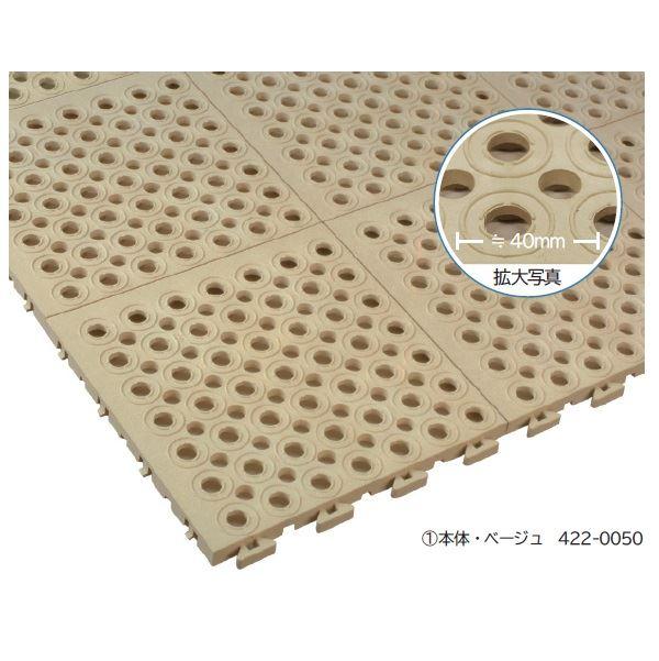 ミヅシマ工業 ソフトチェッカー 本体 250 × 250 × 15mm 1ケース(32ピース入)