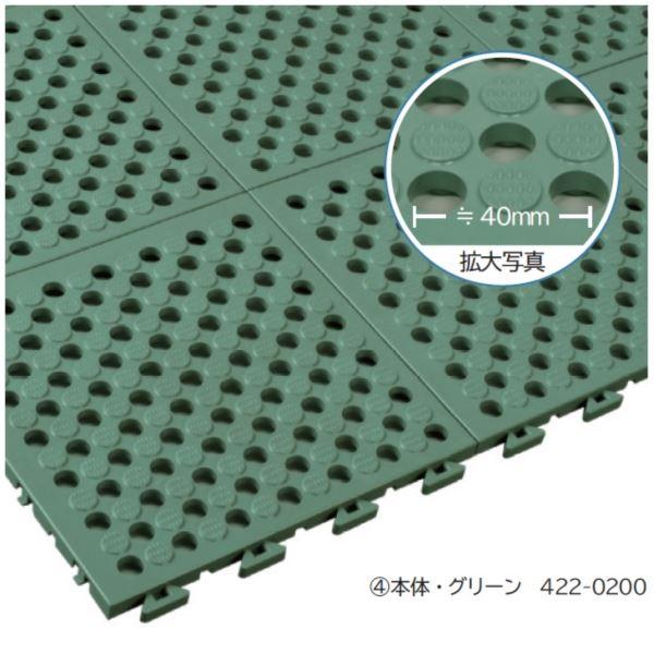 ミヅシマ工業 タフチェッカー 本体 250 × 250 × 15mm 1ケース(32ピース入)