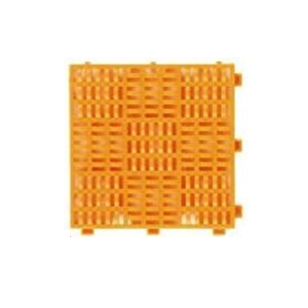 ミヅシマ工業 クロスラインマットS 本体 150 × 150 × 15mm 1ケース(200ピース入)