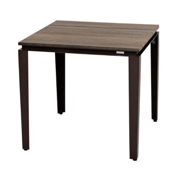 ニチエス MAIORI マイオリ タパテーブル 80×80 / ラスト+ブラウン  ラスト+ブラウン