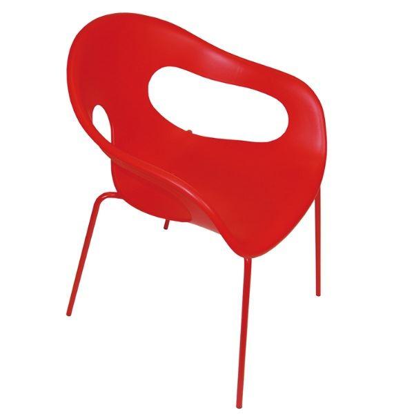 オンリーワン ガーデンファニチャー サニーチェア #DA3-SUNYRE レッド レッド