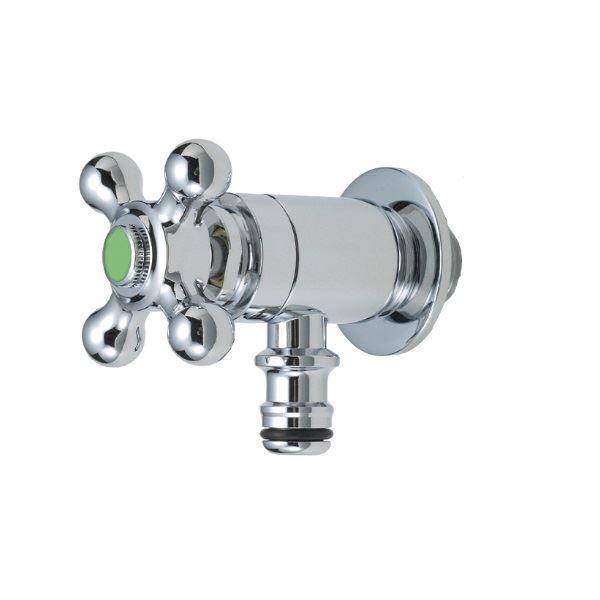 オンリーワン ガーデン水栓 不凍ホース接続水栓  HV3-G102T-M メッキ