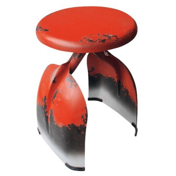 東洋石創 テーブル&チェアー チェアー #81426 オレンジ