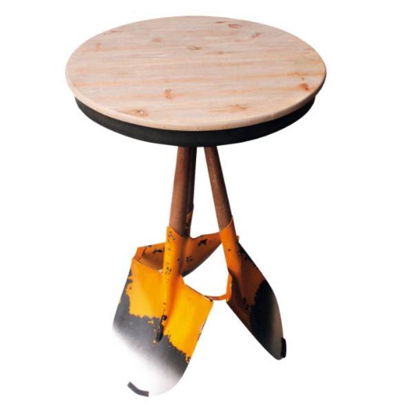 東洋石創 テーブル&チェアー テーブル #81416 イエロー