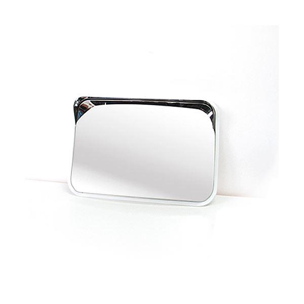 信栄物産 ステンレスミラー 角型 225×320  #S-2W  白 白