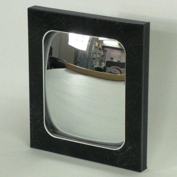 信栄物産 エクステリアミラー ブラックミューズ  185×210×20    #EX-BM