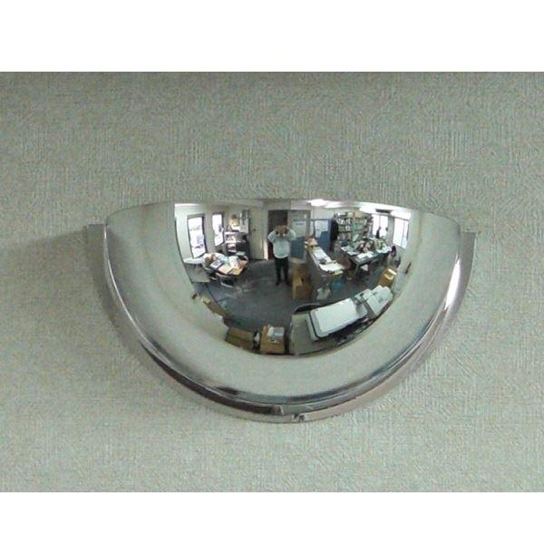 信栄物産 半球ミラーハーフ 330×150  #R-30H