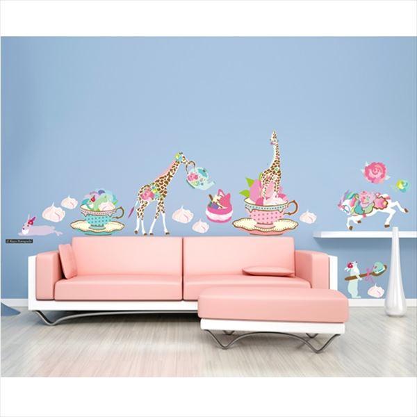 東京ステッカー 高級ウォールステッカー ホラグチ カヨ 「バラの花束A」 Lサイズ *TS0052-AL  『おしゃれ かわいい』 『壁 シール』