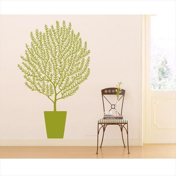 東京ステッカー 高級ウォールステッカー 植物 オリーブ Sサイズ *TS0001-AS ライムグリーン 『おしゃれ かわいい』 『壁 シール』