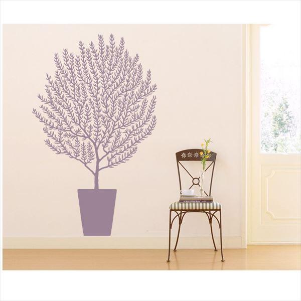 東京ステッカー 高級ウォールステッカー 植物 オリーブ Sサイズ *TS0001-CS パープル 『おしゃれ かわいい』 『壁 シール』