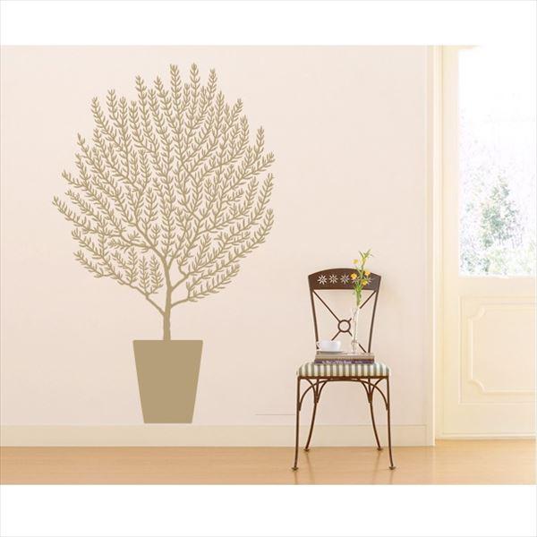 東京ステッカー 高級ウォールステッカー 植物 オリーブ Mサイズ *TS0001-DM ベージュ 『おしゃれ かわいい』 『壁 シール』