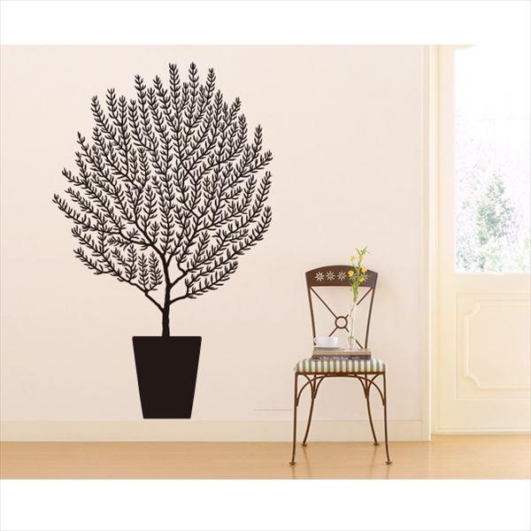 東京ステッカー 高級ウォールステッカー 植物 オリーブ Lサイズ *TS0001-FL ブラック 『おしゃれ かわいい』 『壁 シール』
