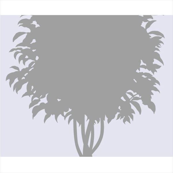 東京ステッカー 高級ウォールステッカー 植物 ベンジャミン Lサイズ *TS0002-EL グレー 『おしゃれ かわいい』 『壁 シール』