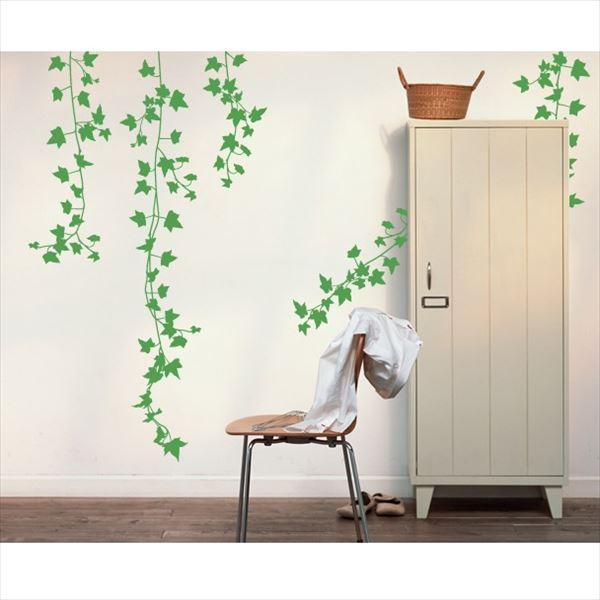 東京ステッカー 高級ウォールステッカー 植物 アイビー Lサイズ *TS0009-BL グリーン 『おしゃれ かわいい』 『壁 シール』