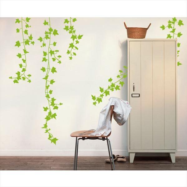 東京ステッカー 高級ウォールステッカー 植物 アイビー Lサイズ *TS0009-CL ライムグリーン 『おしゃれ かわいい』 『壁 シール』