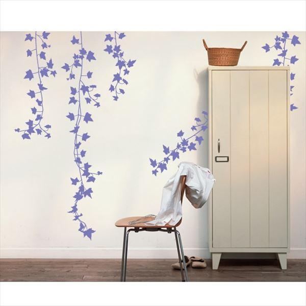東京ステッカー 高級ウォールステッカー 植物 アイビー Lサイズ *TS0009-DL パープル 『おしゃれ かわいい』 『壁 シール』