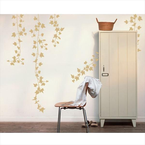 東京ステッカー 高級ウォールステッカー 植物 アイビー Lサイズ *TS0009-EL ベージュ 『おしゃれ かわいい』 『壁 シール』