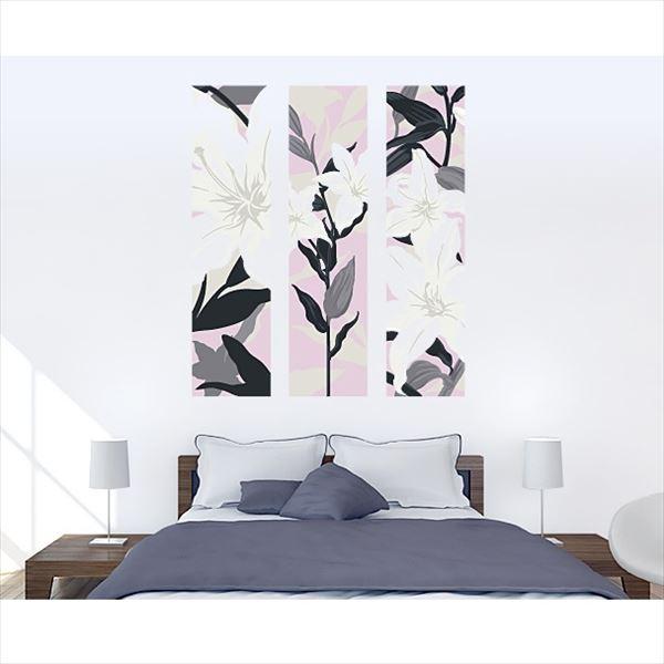 東京ステッカー 高級ウォールステッカー 植物 カサブランカ Lサイズ *TS0011-BL ピンク 『おしゃれ かわいい』 『壁 シール』