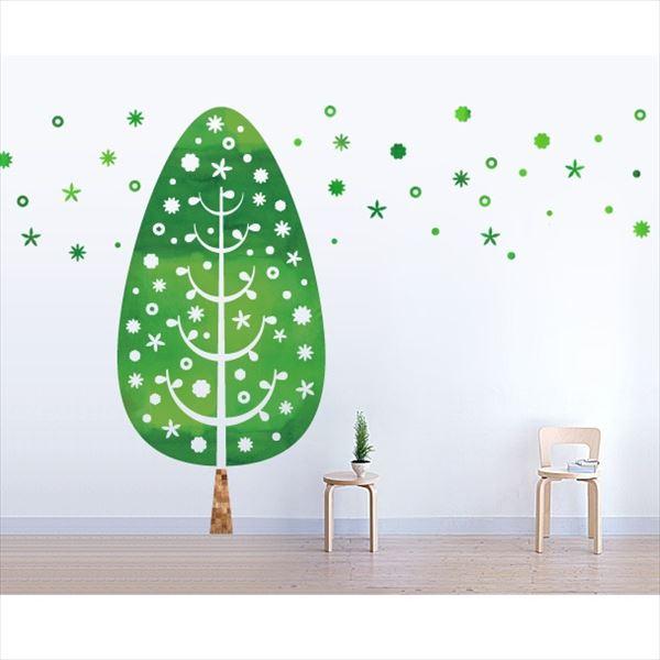 東京ステッカー 高級ウォールステッカー 植物 ツリー・デコレーション Lサイズ *TS0014-AL グリーン 『おしゃれ かわいい』 『壁 シール』