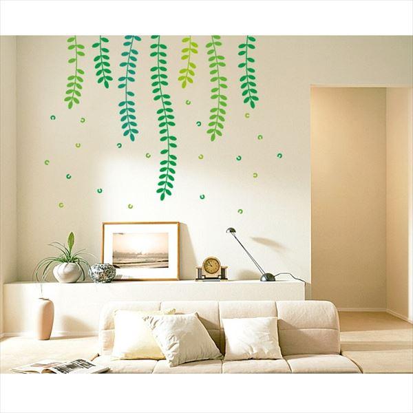 東京ステッカー 高級ウォールステッカー 植物 ハリエンジュ Lサイズ *TS0018-AL ミックスグリーン 『おしゃれ かわいい』 『壁 シール』
