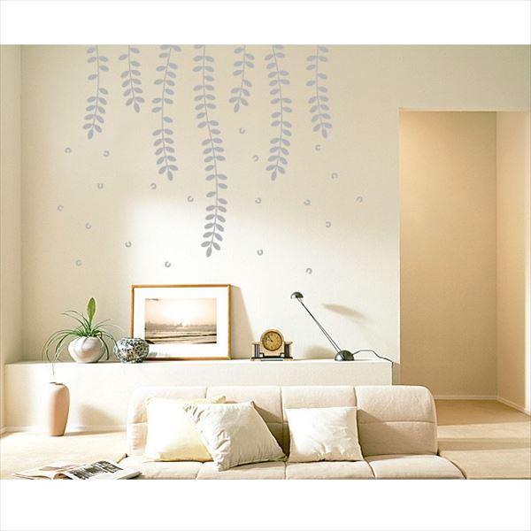 東京ステッカー 高級ウォールステッカー 植物 ハリエンジュ Lサイズ *TS0018-EL グレー 『おしゃれ かわいい』 『壁 シール』