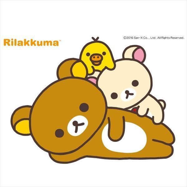 東京ステッカー 高級ウォールステッカー リラックマ 「シンプル_009」 Lサイズ *TS0094-AL  『おしゃれ かわいい』 『壁 シール』