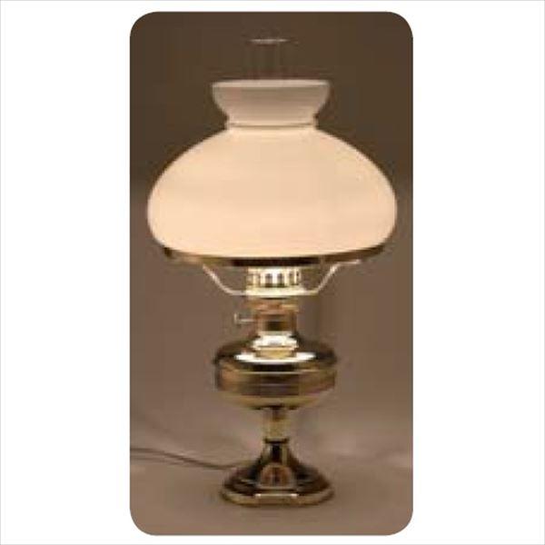 メイク ガーデンルームライト 室内用 『白セード付』 テーブルステムランプ 電球仕様 #GVT07A-WH 白