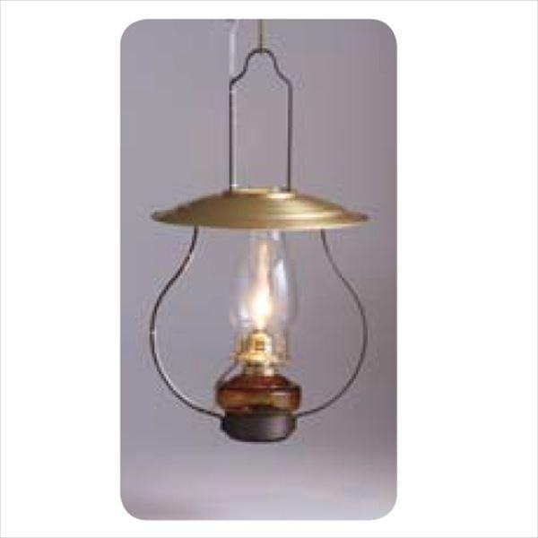 メイク ガーデンルームライト 室内用 吊りランプGO-アンバー油壺GOLD 電球仕様 #CVU912