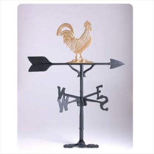 メイク 風見鶏 中型 雄鶏 ゴールド   ・NEK212