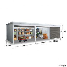 『配送は関東・東海限定』イナバ物置 FXN/シャッター連続型 FXN-95HDL 土間タイプ 一般型・基本棟(棚板別途) *1棟目のみの価格