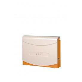 バーゲンで オンリーワン フィオーリ NA1-PF02OR 『郵便ポスト』 オレンジ:エクステリアのプロショップ キロ-エクステリア・ガーデンファニチャー